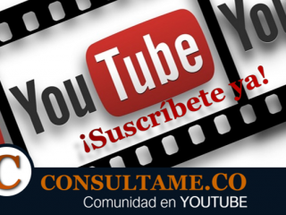 Suscríbete a Consultame.CO en Youtube